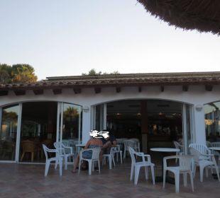 Bar aussen Hotel Ola Club Cecilia