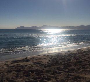 Der Strand am Morgen allsun Hotel Eden Playa