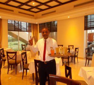 Hany im Hauptrestaurant