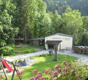 Bergstation der Gondel  Forsthaus Graseck (Vorgänger-Hotel – existiert nicht mehr)