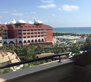 Ausblick 6. Etage Hotel Royal Dragon