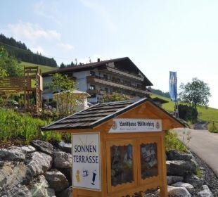 Neue Auffahrt Landhaus Wildschütz