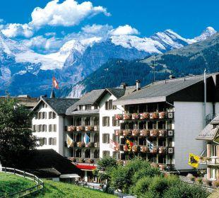 Sunstar Hotel Wengen - Hotel Ansicht Sunstar Alpine Hotel Wengen
