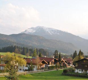 Balkonblick nach Süd-West Landhaus Franziskus