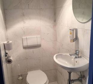 Kleines Bad oben Schlafzimmer Center Parcs Park Zandvoort - Strandhotel