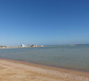 Schöner Strand zum Schwimmen nicht geeignet