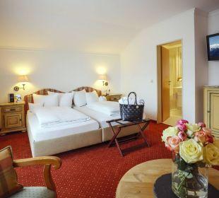 Doppelzimmer Landhaus Hotel Staudacherhof