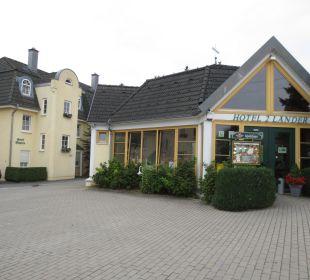 Eingang Hotel 2 Länder