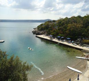 Teil des Strandes Villa Pavlinka