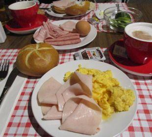 Frühstück am 2. Tag ENZIANA Hotel Vienna