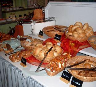 Frühstücksbuffet Hotel Jodquellenhof Alpamare (Hotelbetrieb eingestellt)