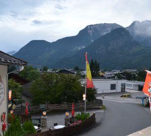 Vom Balkon  Gasthaus-Pension Forellenstube