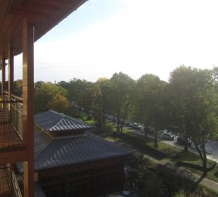 Blick aus 4. Stock Lindner Park-Hotel Hagenbeck