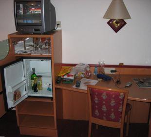 Zimmereinrichtung Strandhotel Alte Donau