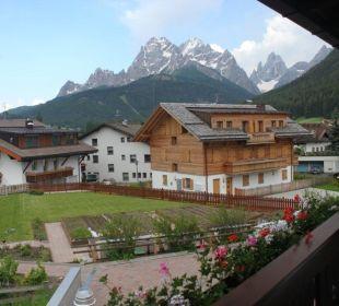 Ausblick vom Balkon der Ferienwohnung Rudlerhof & Chalet Rudana