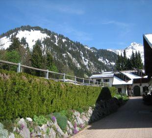 Zugang zum Sunneschlössli Hotel Sunneschlössli