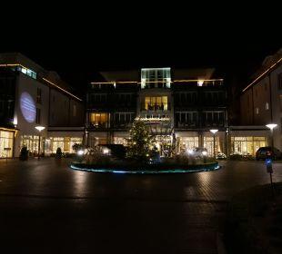 Weihnachtliche Stimmung am Abend Grand Hotel Binz by Private Palace Hotels & Resorts