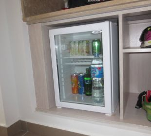 Kühlschrank unter der Kofferablage