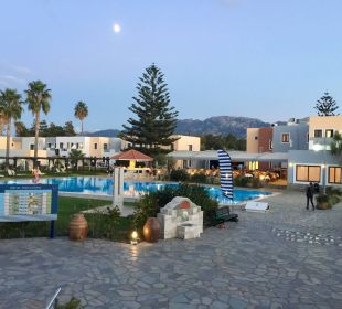 Pool beim Eingangsbereich FAMILY LIFE Marmari Beach by Atlantica