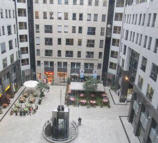 Zimmerausblick Arcadia Hotel Berlin