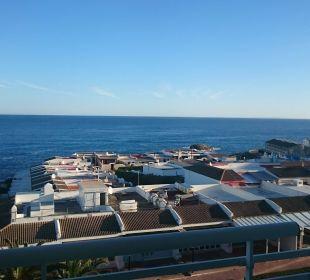 Blick vom Zimmer Hotel & Spa S'Entrador Playa