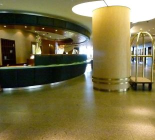 Blick auf die Lobby Hotel Neptun