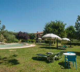 Vista piscina piccola Hotel Sovestro