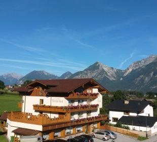 Blick vom Balkon Angerer Familienappartements Tirol