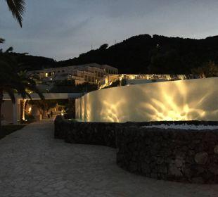 Abendstimmung im Hotel MarBella Corfu Hotel