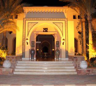 Der Eingang zur Lobby