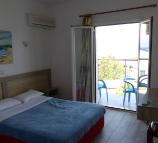 Unser Schlafzimmer Hotel Corfu Pelagos