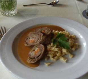 Küche schon fast Sterne- bzw. Haubenniveau Hotel Landhaus Knura