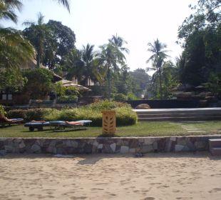 Mit Blick zum Pool Sea Sand Sun Resort