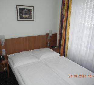Bett Hotel Hanseport Hamburg