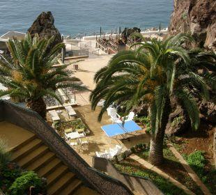 Blick auf die Poolanlage Hotel The Cliff Bay (PortoBay)