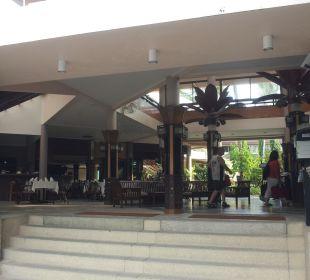Eingangsbereich Hotel Coconut Village
