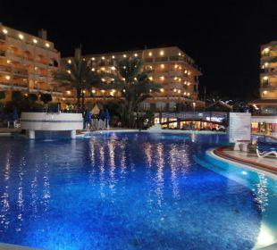 La piscina de noche Hotel Mirador Maspalomas Dunas
