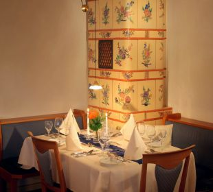 Kachelofen Restaurant Sporthotel Sonnhalde