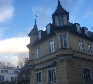 Außenansicht Hotel Laimer Hof Schloß Nymphenburg