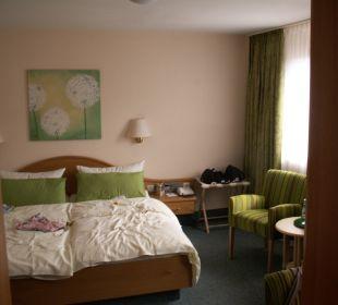 Schlafzimmer Hotel Werbetal