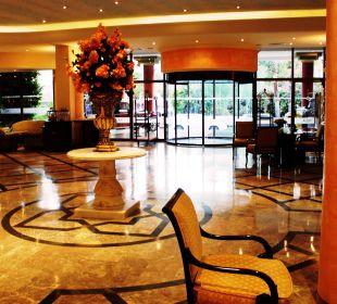Einladende Lobby Hotel Aqua