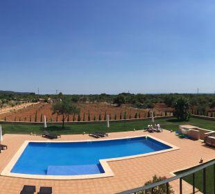 Ausblick vom Balkon Finca Sol y Vida