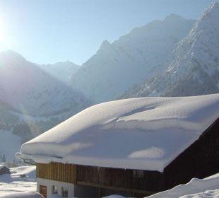 Winterausblick Gasthof Bergblick