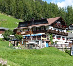 Haus Südseite Alpengasthof Köfels