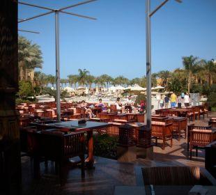 Ausblick von der Terrasse Stella Di Mare Beach Resort & Spa Makadi Bay