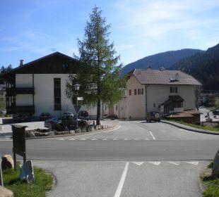 Blick zum Hotel vom Moor aus Gasthof zum Hirschen