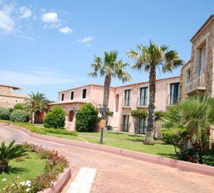 Eingangsbereich Colonna Resort