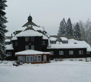 Hotel in Winteransicht Hotel Harzhaus