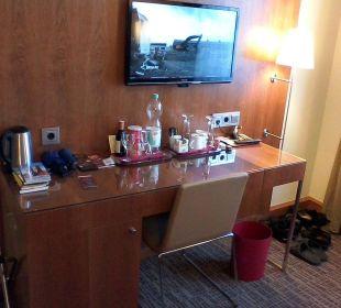 K + K am Harras Suite Wohnraum K+K Hotel am Harras