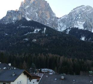 Blick aus unsrem Fenster Parc Hotel Florian